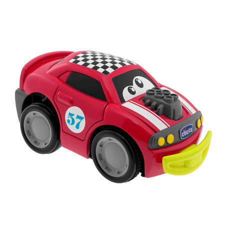 Игрушка машинка 'Turbo Touch Crash', красная интерактивная игрушка chicco машинка turbo touch crash от 2 лет синий 6722