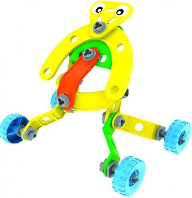 Конструктор 6 в 1 Bebelot BAsic Внеземные цивилизации и спортивние автомобилиСобирать конструктор - очень увлекательное и полезное занятие. Соединяя крупные яркие детали конструктора отвёрткой, ребёнок не только играет, а ещё и развивает воображение, логику, усидчивость и мелкую моторику. Попробуйте собрать все модели!<br>