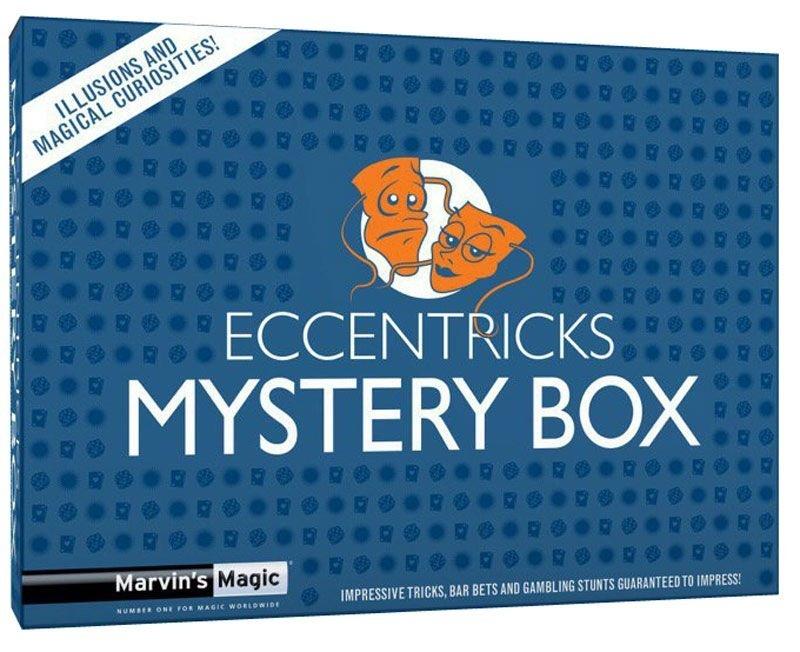 Фокусы Eccentricks - Magical CuriositiesОригинальный набор, включающий кофейный столик. Он позволит вам стать звездой и впечатлить зрителей. Вы не поверите своим глазам. В коробке фокусов вы найдете интригующую подборку трюков, но перед тем как начинать играть, посмотрите DVD диск с пошаговым объяснением фокусов. Размер упаковки: 19 х 26 х 5,5 см. Рекомендуемый возраст 8+<br>