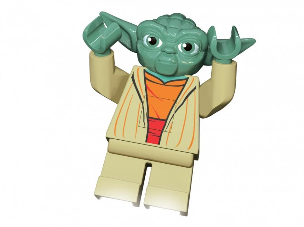 Фонарик-ночник Lego Star Wars YodaФонарик-ночник LEGO Star Wars — Yoda — это новинка 2013 года в серии Лего Звездные войны.<br>
