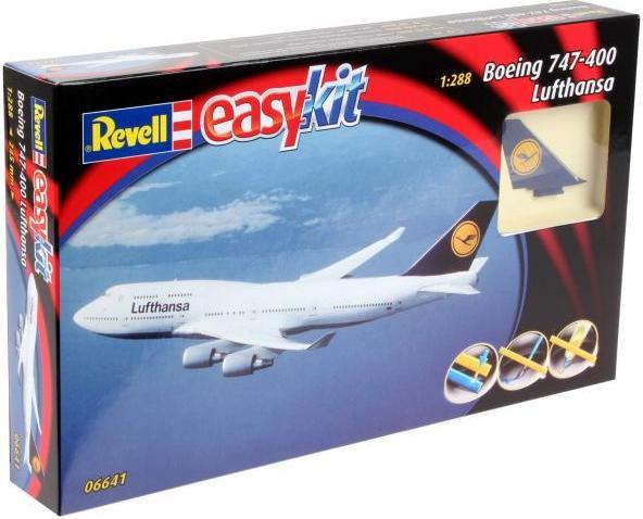 Сборная модель Revell  Boeing 747 LufthansaМодель для стендового моделизма (сборная модель для склеивания и покраски) высокого качества. Масштаб сборной модели 1/288. Производитель модели - Revell. Для самостоятельной сборки этой модели Вам могут понадобится клей, краски и инструменты для моделирования.<br>