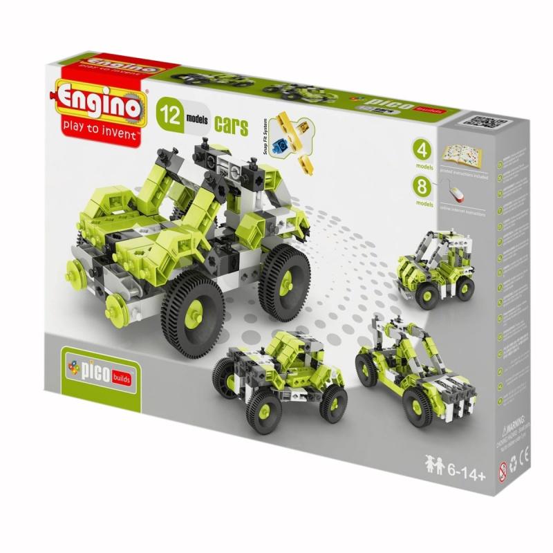Конструктор Engino - Автомобили, 130 деталей