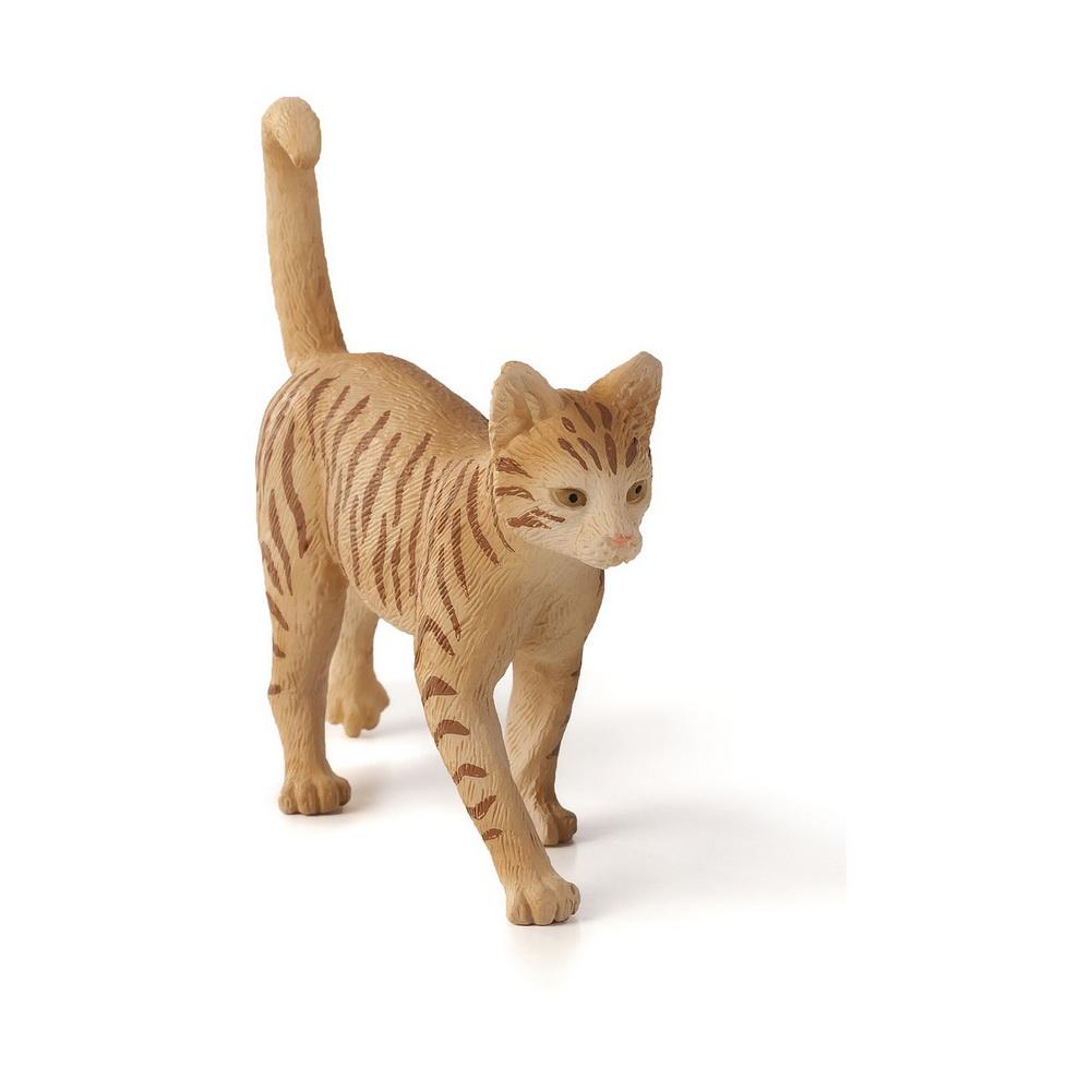 387283 Фигурка Mojo (Animal Planet)-Кошка Табби (M)Фигурка Кошка Табби - это точная копия настоящего животного. Фигурка изготовлена с тщательной детализацией и раскрашена вручную, что придает ей исключительную реалистичность. Фигурка станет чудесным дополнением домашней коллекции животных и пригодится для сюжетных игр.<br>