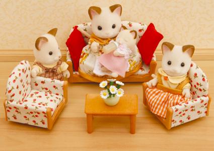 Набор Sylvanian Families. Мягкая мебель для гостиной