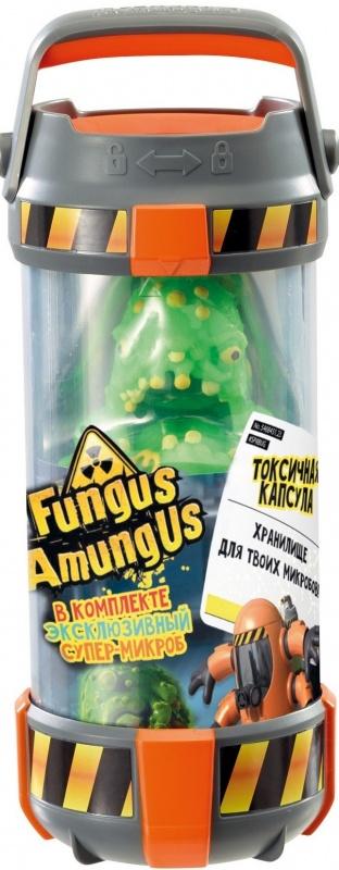 Игровой набор Vivid Fungus Amungus Токсичная капсулаИгровой набор Fungus Amungus - Токсичный контейнер (капсула) выполняет роль своеобразного чемоданчика для коллекционирования. Ведь в этой колбе прячется фигурка огромного супермикроба эксклюзивного типа!<br>