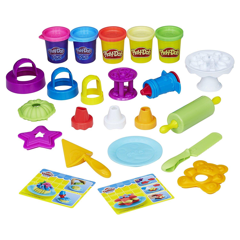 Play-Doh Набор для лепки Для выпечки play doh набор пластилина праздничный торт