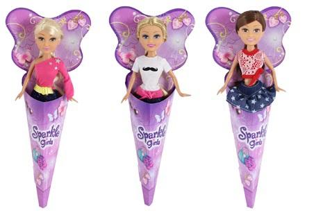 Кукла-модница Sparkle Girlz в рожке funville кукла sparkle girlz модница в рожке в ассортименте funville
