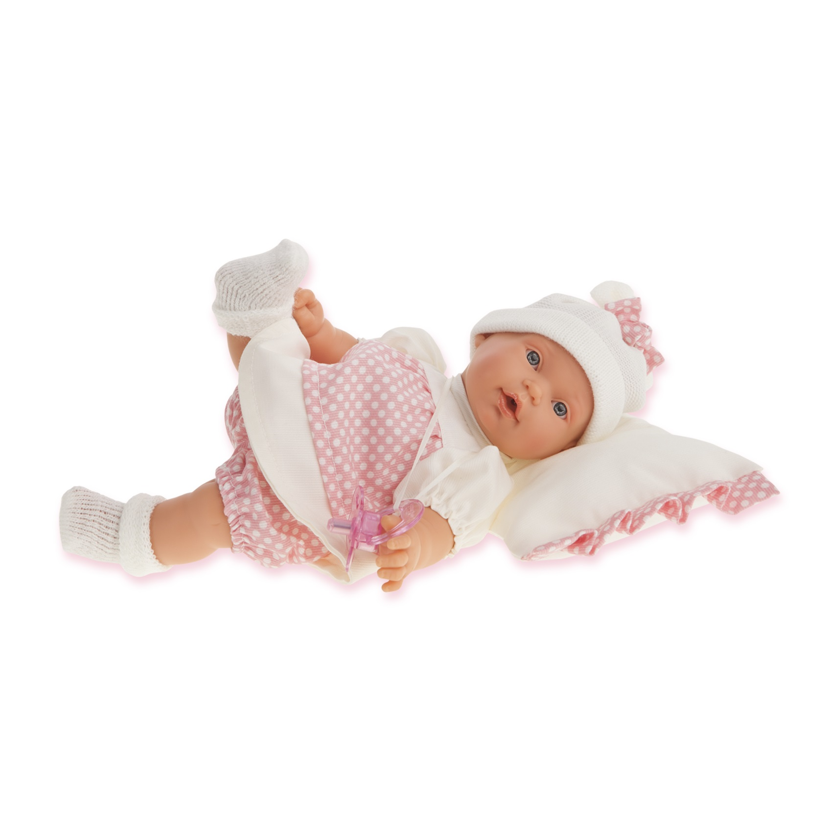 """Кукла """"Ланита"""" на бежевой подушке (плачет), 27 см  ланита обои ланита 3 0169"""