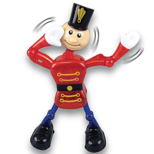 Фигурка солдата шарнирная заводнаяЗаводной солдат. Большой, с двигающимися шарнирными руками и ногами. Очень забавная классическая игрушка.<br>