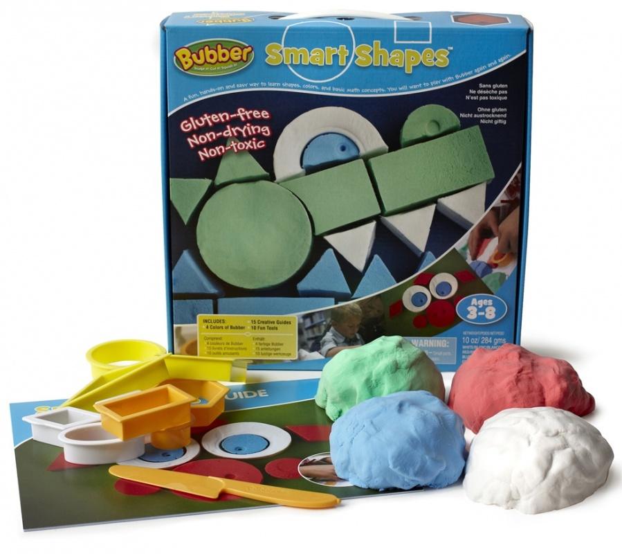 Игровой набор для лепки Waba Fun Bubber Smart Shapes песочница надувная waba fun