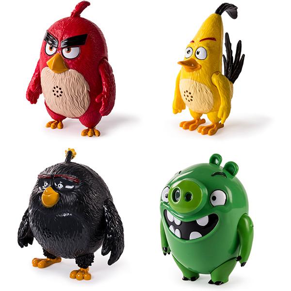 Игрушка Angry Birds интерактивная говорящая птица
