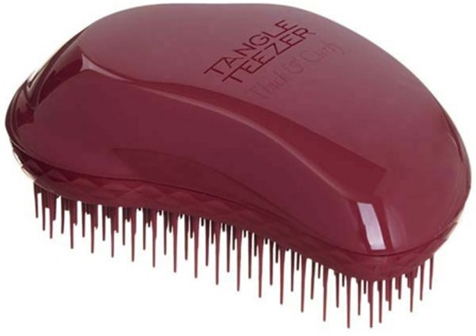 Расческа Tangle Teezer для вьющихся волос, бордовая