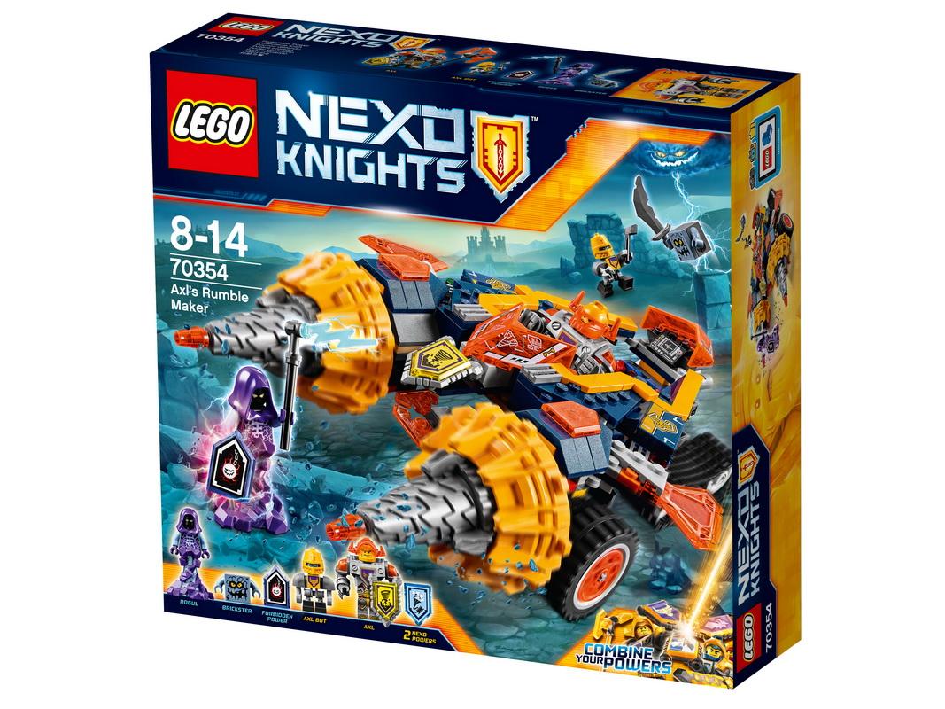 """Купить со скидкой Конструктор Lego Nexo Knights """"Бур-машина Акселя"""""""
