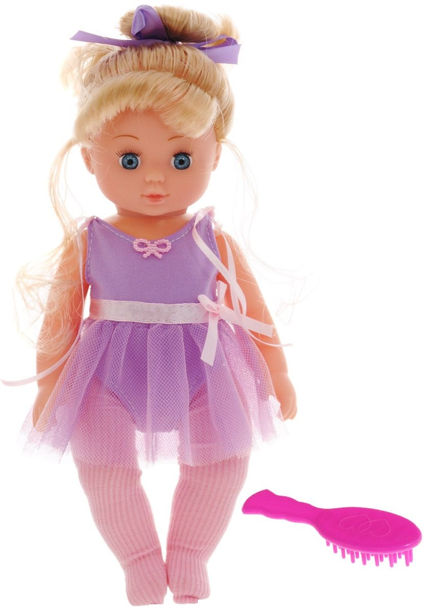 ABtoys Кукла Балерина цвет купальника фиолетовый abtoys кукла балерина бэлла