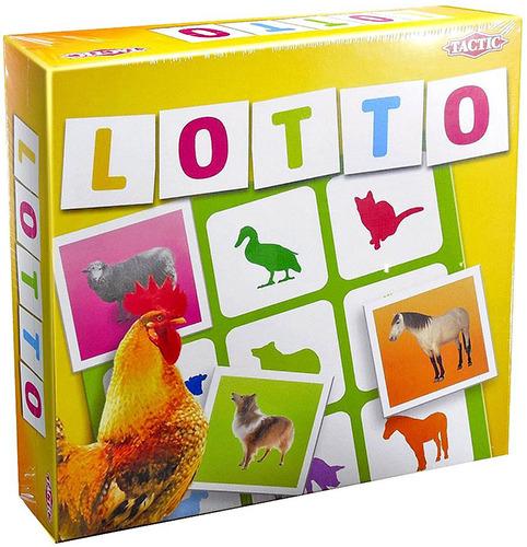 Лото Домашние животныеПравила игры, 36 игровых карточек, 4 игровых поля<br>
