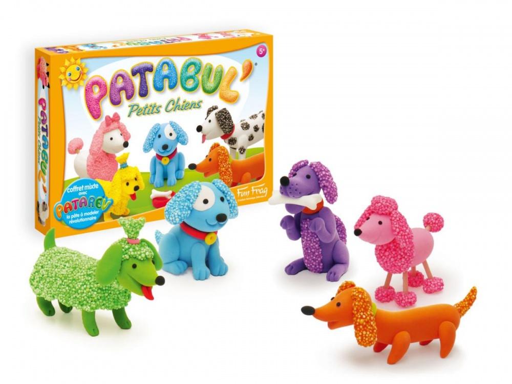 Набор для лепки PATABUL - Щенки sentosphere набор пластилина для детской лепки 5 цветов