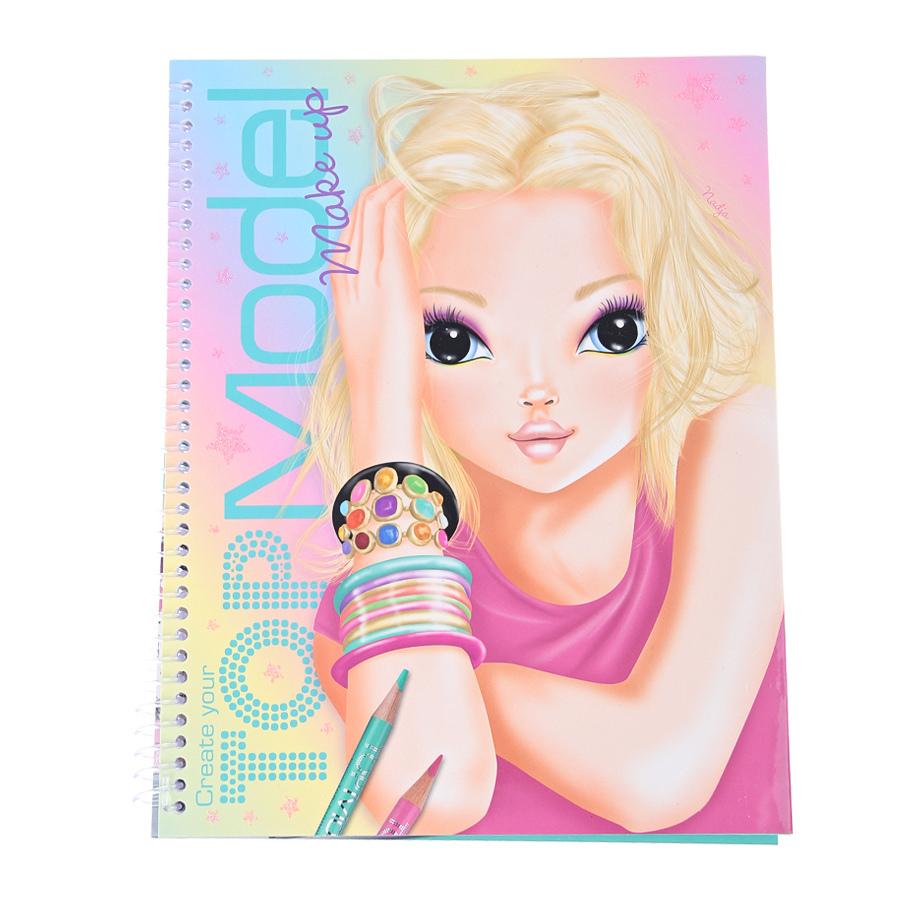 TOPModel Make-Up раскраска (046921/006921) (Товар) Творчество