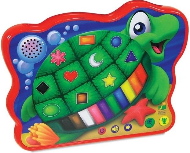 Игрушка развивающая Learning Journey Веселая морская черепашка learning journey развивающая игрушка веселый слоник