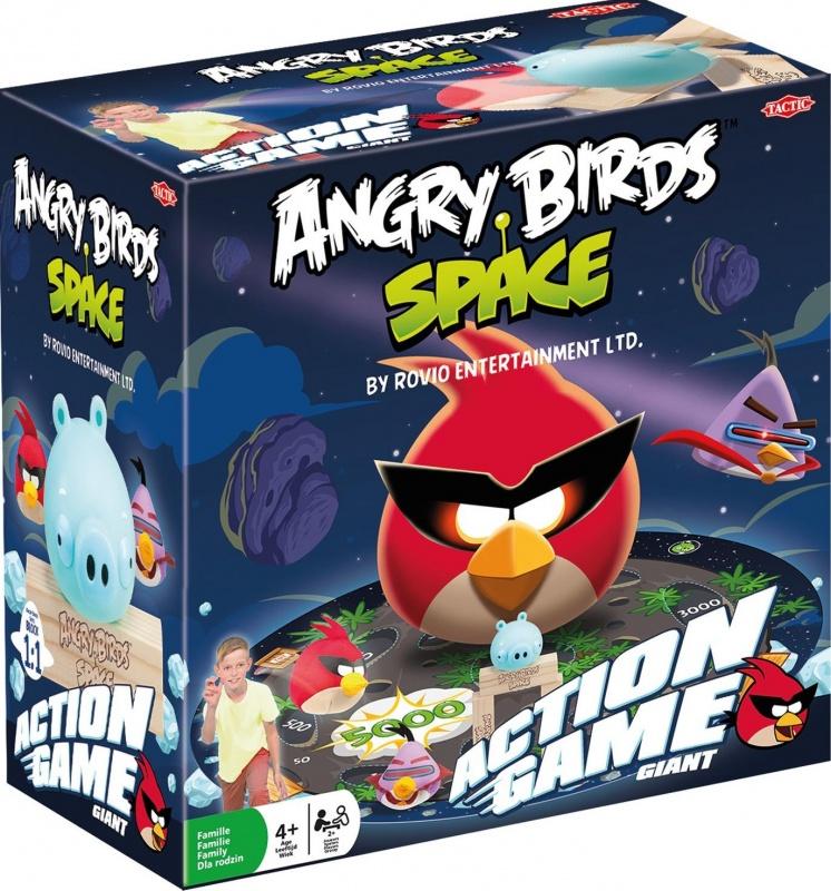 Настольная игра Angry Birds Tactic Games Космос интерактивная игра свинка с 3 птичками angry birds