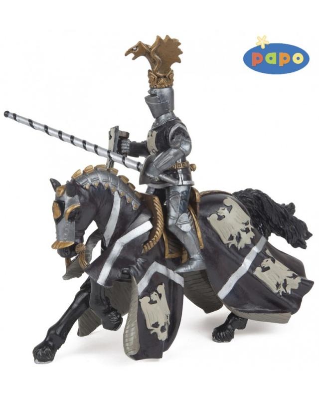 Конь принца ДжонаИгровая реалистичная фигурка. Ручная роспись. Все фигурки Papo проходят тщательную подготовку и обработку, поэтому они крепкие и долговечные. Материал: высококачественный полимерный материал.<br>