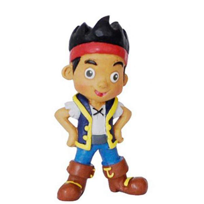 Фигурка Джейк и пираты Нетландии - Джейк, 6 смФигурка Джейк - это олицетворение смелого и отчаянного героя из мультфильма Джейк и пираты Нетландии. Он обожает путешествовать в компании своих верных друзей и успешно противостоит надоедливым пиратам. На корабле под названием Быстрый бесстрашная братия поднимает все паруса, радостно встречает ветер и уверенно идет вперед навстречу приключениям.Фигурка главного героя мультсериала выполнена очень реалистично, прорисованы даже самые мелкие детали. Она сделана из безопасного и нетоксичного материала, поэтому с ней могут играть даже самые маленькие дети.Возраст: от 3 летДля мальчиков и девочекМатериалы: винил.Высота фигурки: 6 см.<br>