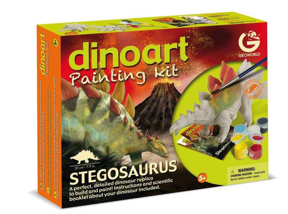 Набор для творчества - Диноарт Стегозавр купить аксессуары в автомобиль наложенным платежом