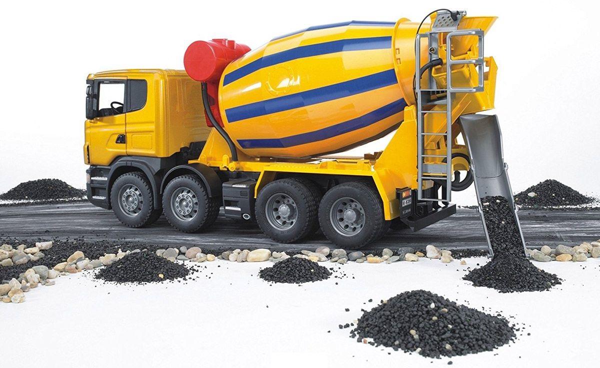 стоимость машины бетона