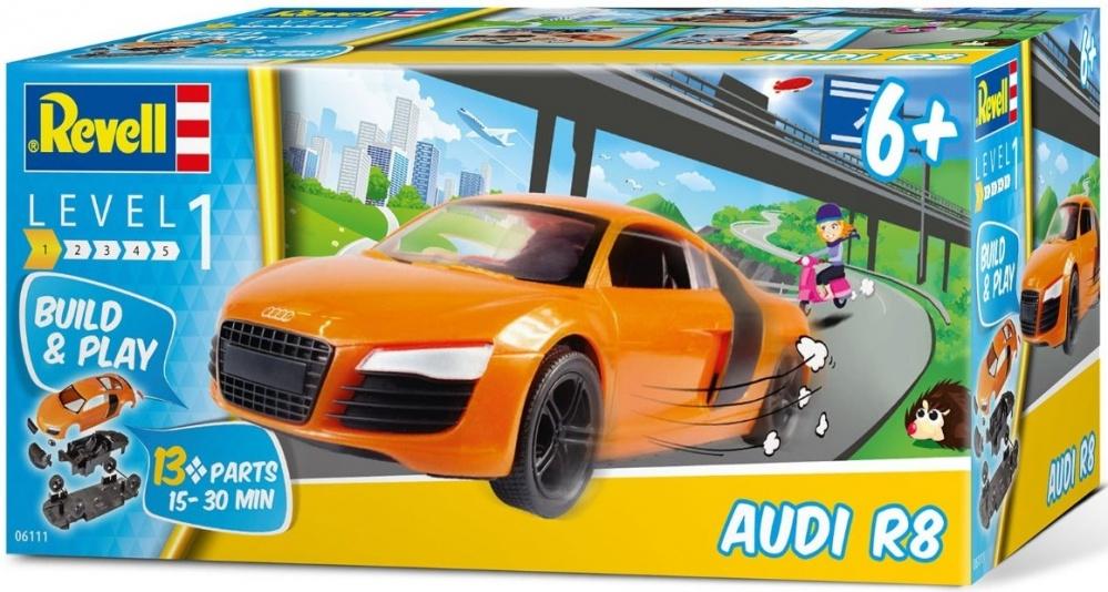 Автомобиль Revell Audi R8 revell автомобиль audi r8
