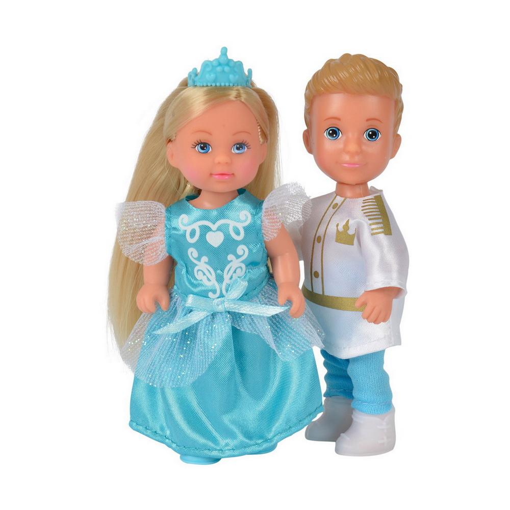 Купить Куклы Тимми и Еви - принц и принцесса, 12см