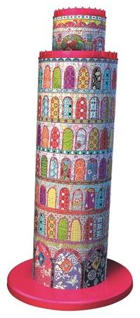 3D Пазл 'Тула Мун - Пизанская башня', 216 шт ravensburger тула мун эйфелева башня 12567