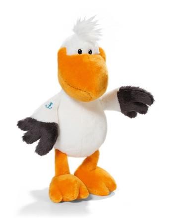 Мягкая игрушка Пеликан, сидячий, 25 смМягкая игрушка Пеликан. Размер 25см.<br>