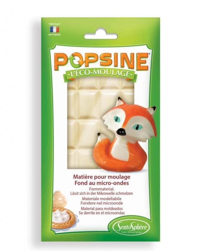 Дополнительный набор для творчества POPSINE 110 г, белый наборы для лепки sentosphere дополнительный набор для творчества popsine 110 г