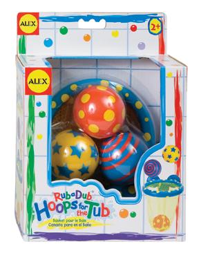 Мячики в сетке. Игра для ваннойЗамечательная игра для ванной. В наборе: баскетбольная сетка на присосках, 3 разноцветных мячика с веселым рисунком.Сетка легко прикрепляется к стенке ванны с помощью присосок. Для детей от 2х лет.<br>