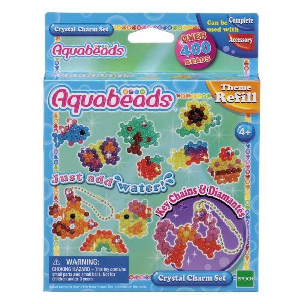 Купить Мозаика из бусин Aquabeads - Потрясающие брелочки