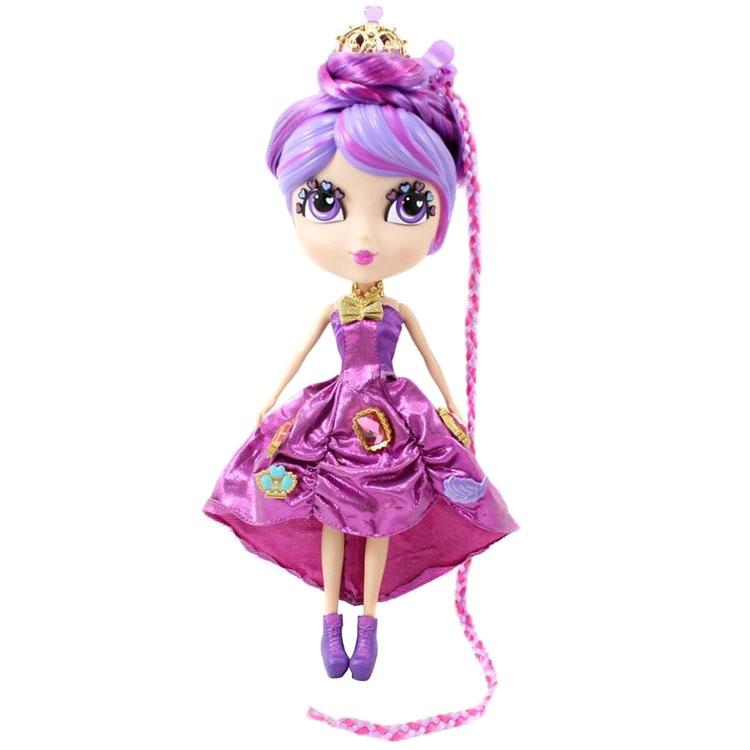Кьюти Попс Принцессы - кукла ПелинаНабор Кьюти Попс Принцессы станет прекрасным подарком для вашей девочки. Он включает в себя красивую куколку в фиолетовом платье и набор причесок, которые можно менять. Ваша дочь будет с удовольствием играть с куколкой, экспериментируя с прическами и вырабатывая свой особый вкус и стиль.<br>