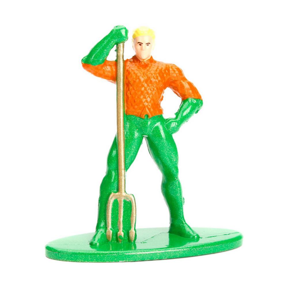 Фигурка металлическая Aquaman 4 смФигурка металлическая Aquaman (Аквамен) по мотивам комиксов 4 см<br>