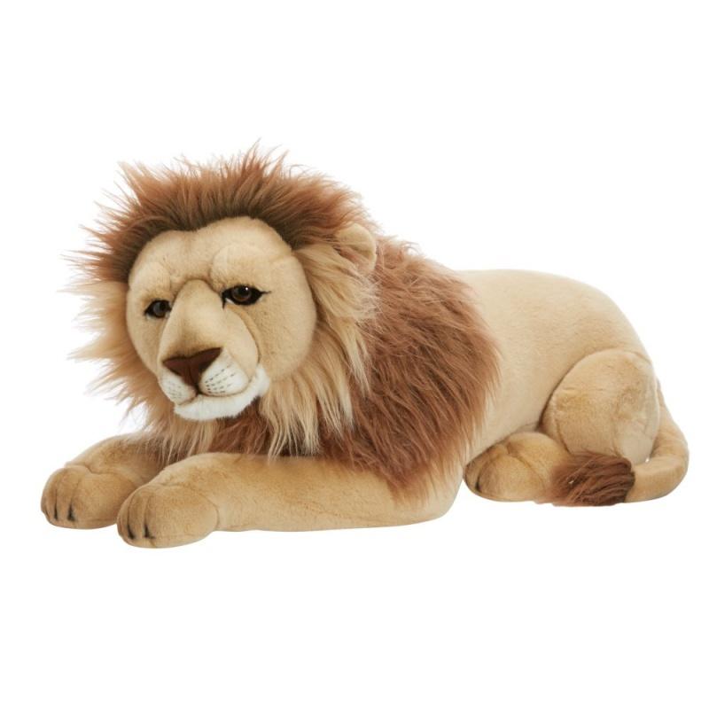 Игрушка плюшевая Большой левHamleys представляет больших друзей из джунглей. Большой Лев изготовлен из лучших качественных материалов с особым вниманием к деталям.<br>