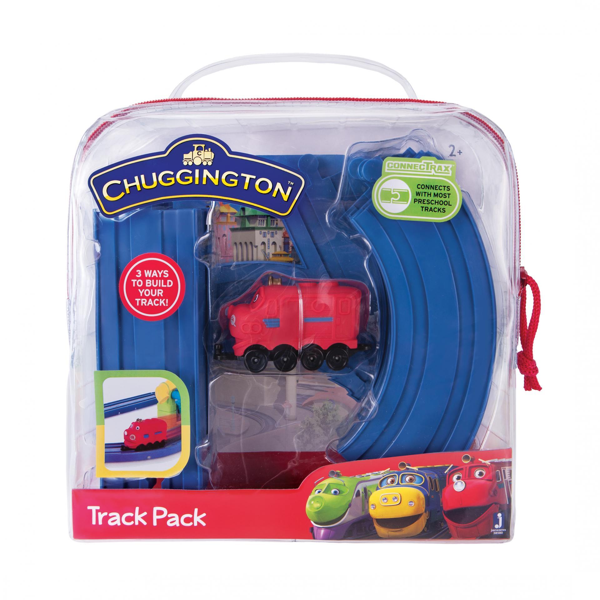 CHUGGINGTON Игровой набор «Трак»Игровой набор Вилсон от производителя Chuggington - это чудесная многофункциональная конструкция для детей, которые любят строить своими руками. С помощью данной конструкции ребенок окунется в удивительный мир приключений. В комплекте представлены игрушечный паровозик, а также восемь деталей железной дороги, изготовленные из пластика. Такой игровой набор пополнит коллекцию ребенка и подарит веселое настроение всей семье.<br>