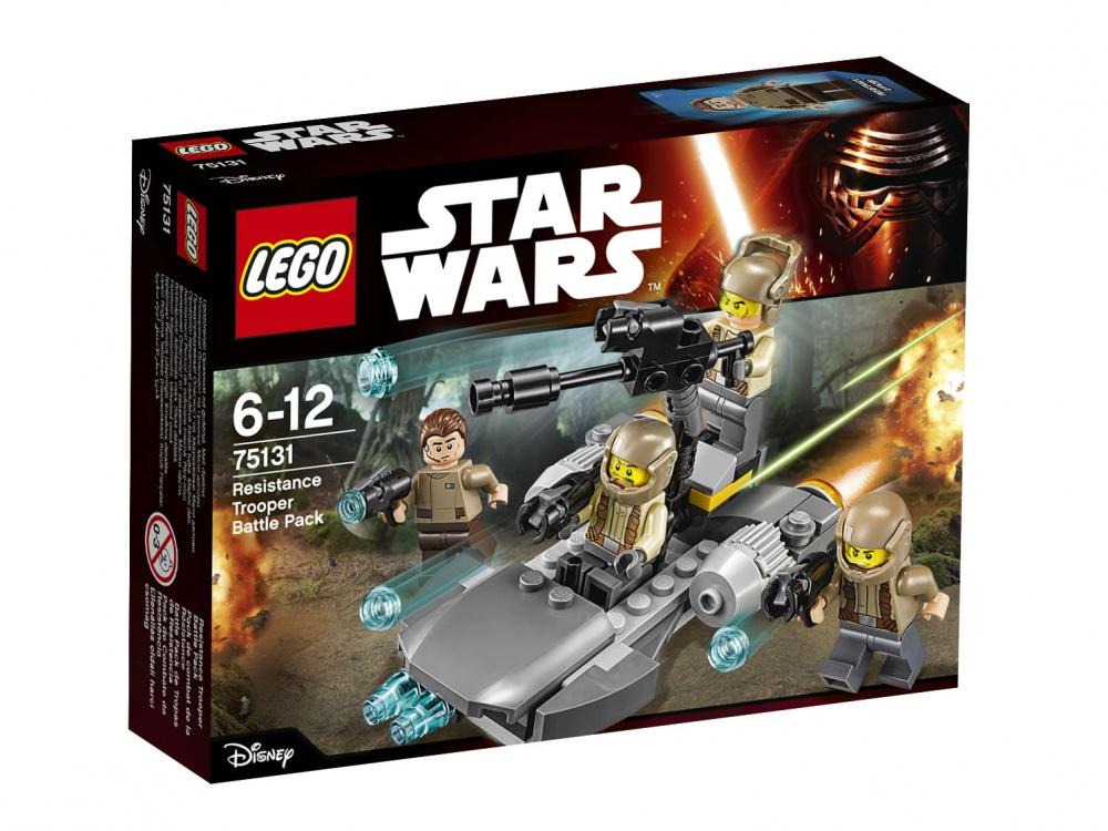 """Конструктор Lego Star Wars 75131 """"Боевой набор Сопротивления""""  lego star wars 75131 боевой набор сопротивления"""