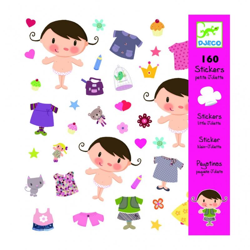 Наклейки Маленькая ДжульеттаНабор наклеек Маленькая Джульетта, 160 штук (08847) может стать незабываемым подарком для вашей дочки. Он поможет ей превратить скучные альбомы для рисования в красочные сочные иллюстрации к сказкам и мультфильмам, сделает открытку-поздравление или приглашение на детский праздник оригинальным и незабываемым произведением детского искусства. Такое поздравление захочется показать всем друзьям или родственникам. Игрушка развиваетспособности к рисованию и композиции, декоративно-прикладному искусству.<br>