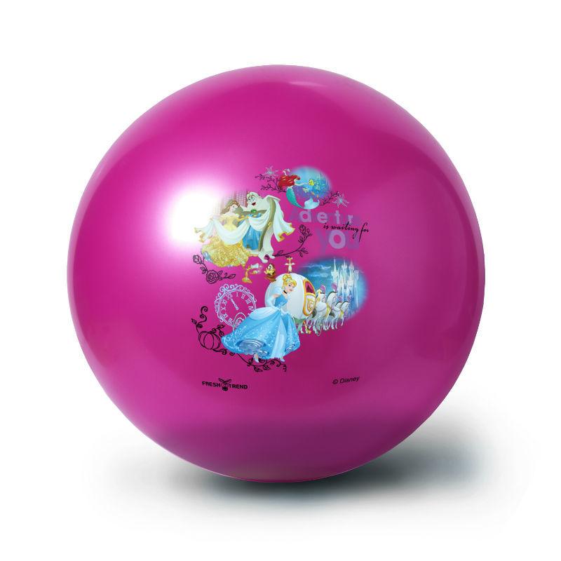 Мяч 32 см ПринцессыМяч с изображением любимых героев несомненно порадует каждого маленького поклонника. Мяч сделан из безопасных материалов. Предназначен для игры на открытом воздухе и в помещении.<br>