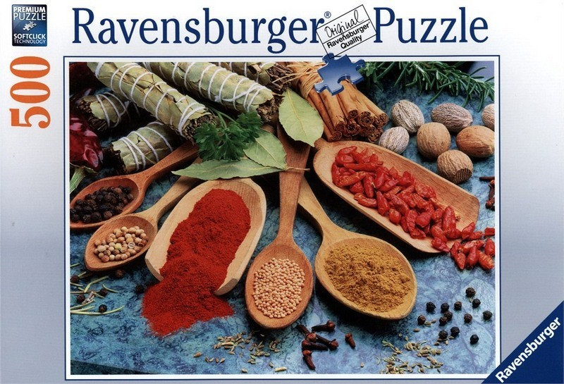 Купить Пазл Красочные Специи 500 Шт Ravensburger 14645