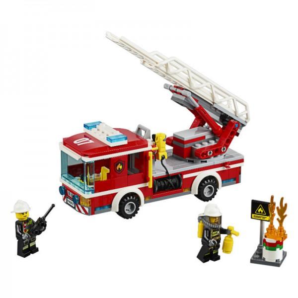 Конструктор Lego City 60107 Пожарный автомобиль с лестницей lego city 60107 пожарный автомобиль с лестницей