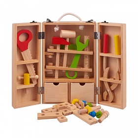 игровой набор из дерева инструменты столяра Classic World